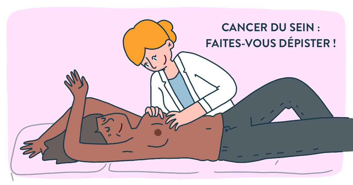 Dépistage cancer du sein Gynécologue doctoome